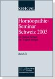 Homöopathie-Seminar Schweiz 2003 Band IX Bild