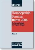 Homöopathie-Seminar Berlin 2004 Band X Bild