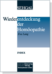 Index zur Wiederentdeckung der Homöopathie Bild