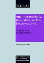 Anamnesetechnik, kleine Mittel, wie Ruta, Plb., Acet-ac., Hell. Band XIX Bild