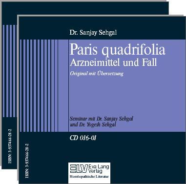Paris quadrifolia Arzneimittel und Fall Bild