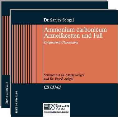 Ammonium carbonicum Fall und Arzneifacetten Bild