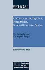 Carcinosinum, Bryonia, Kinderfälle, Sepia mit DD zu Cocc., Puls., Ign. Band XVII Bild
